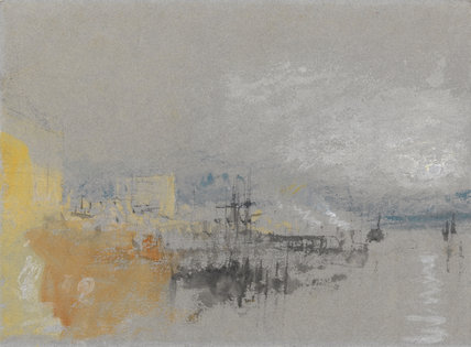 Shipping with Buildings, Venice, by Turner