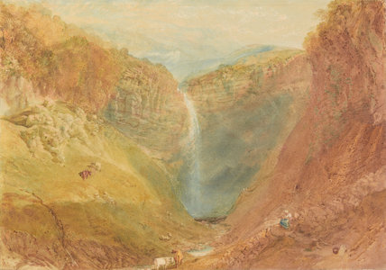 Hardraw Fall, by Turner