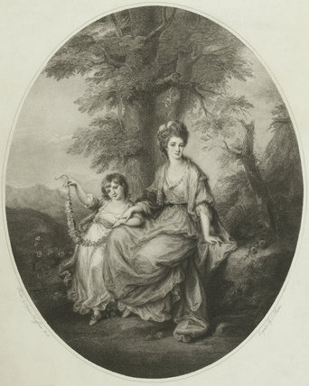 Lady Northwick With Daughter After Angelica Kauffmann By