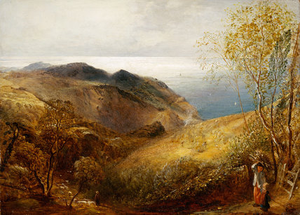 View of Lee, North Devon, by Samuel Palmer