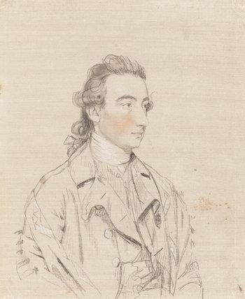 Benjamin Stead, by John Downman