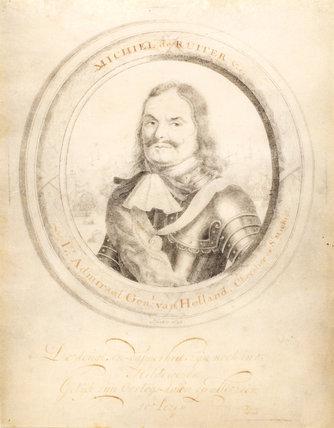Admiral Michiel Adriaanszoon de Ruyter, by John Faber