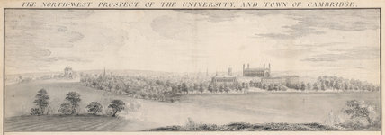 The University and Town of Cambridge, by Samuel Buck