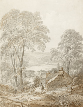 Gannllwyd Vale, North Wales, by John Webber