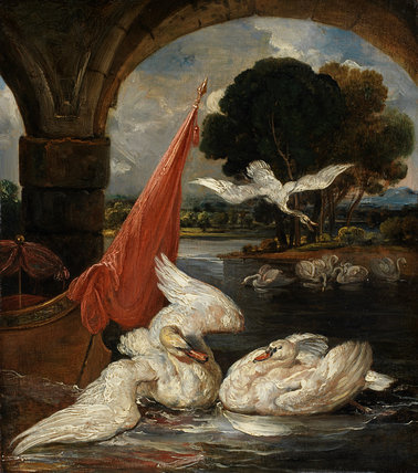The Descent of the Swan, by James Ward