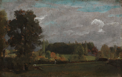 East Bergholt, by Constable