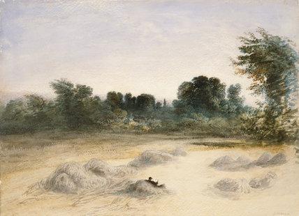 Harvest Field, by John Martin