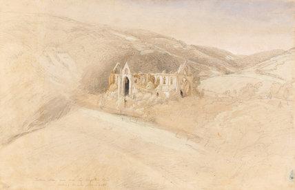 Tintern Abbey, by Samuel Palmer