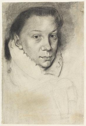 Elisabeth de Valois, after Antonio Moro, by Degas