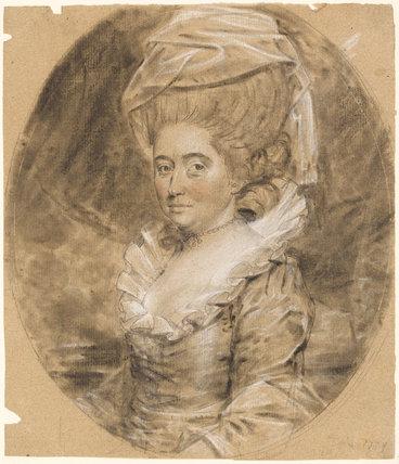 Mrs Robert Cook(e), by John Downman