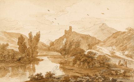 Rocca di Castiglione, by F. Zuccarelli and G. Lambert