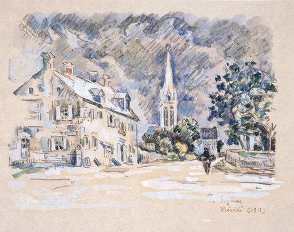 Vierville (Calvados), by Signac