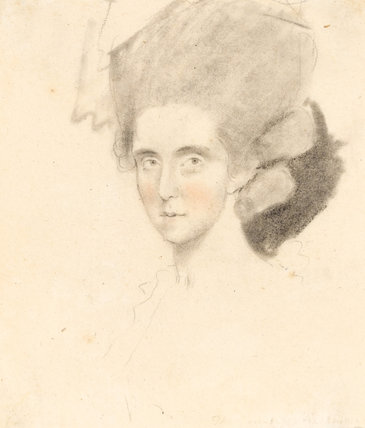 The Countess of Strathmore, by John Downman