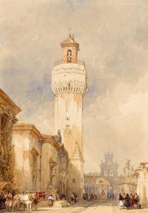 The Church of St Nicholas, Cordoba, by David Roberts