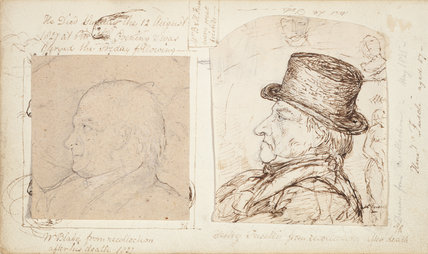 Studies by Samuel Palmer and George Richmond