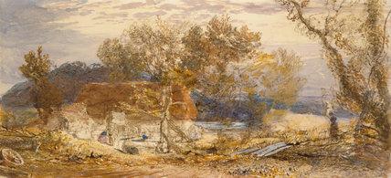 A Farm in Kent, by Samuel Palmer