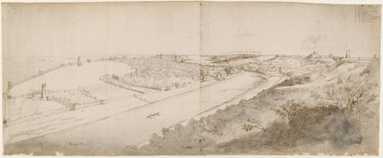 View of Drogheda, by Francis Place
