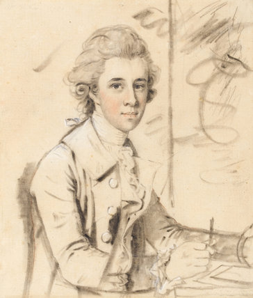 William Nation, by John Downman