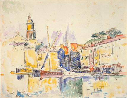 Saint Tropez, by Signac