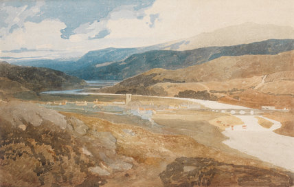 Dolgelly North Wales By John Sell Cotman By Cotman John