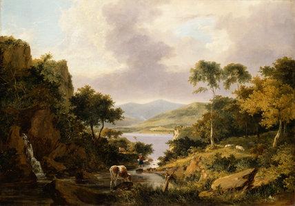 Loch Etive, Argyllshire, by George Vincent