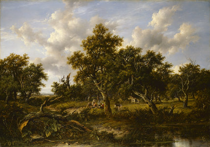 View in Leigh Woods, by Patrick Nasmyth