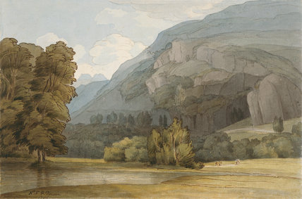 Lough Rigg, Ambleside, by Francis Towne