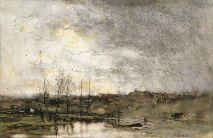 A Rainy Day, by Jacob Henricus Maris