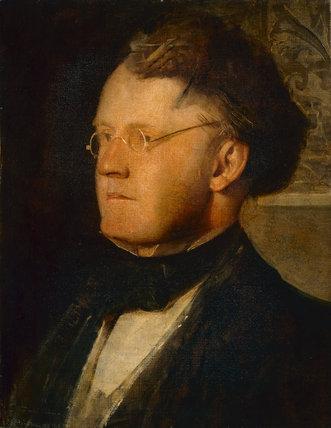 Leonard W. Collmann, by Alfred George Stevens