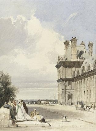 Pavillon de Flore, Tuileries, Paris, by T.S. Boys