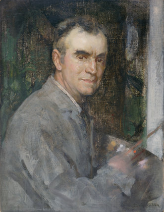 Self-Portrait, by Edward Arthur Walton
