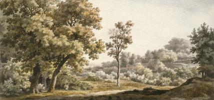 In Greenwich Park, by James or John Skelton