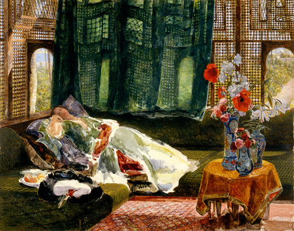 The Siesta, by John Frederick Lewis
