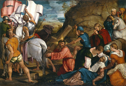 The Journey to Calvary, by Jacopo Bassano