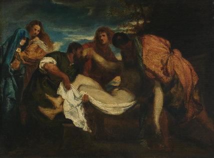 The Entombment, after Titian, by Fantin-Latour