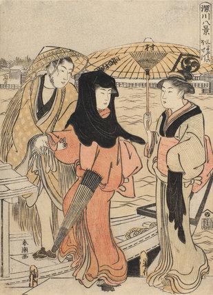 Sangendo no bosetsu, by Katsukawa Shuncho