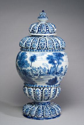 Cistern, Delftware
