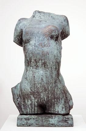 Torse de Jeune Fille Cambree, by Rodin