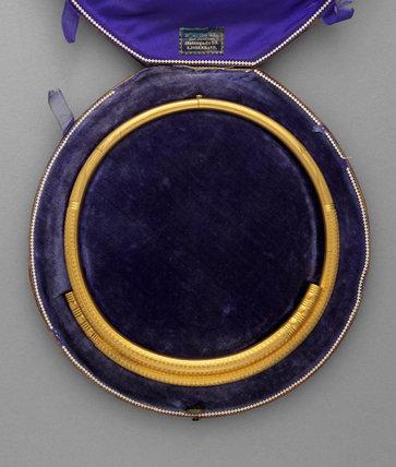 Gold Torc, by Emil Ferdinand Dahl