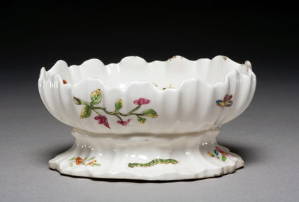 Sweetmeat Dish, by the Chelsea Porcelain Factory