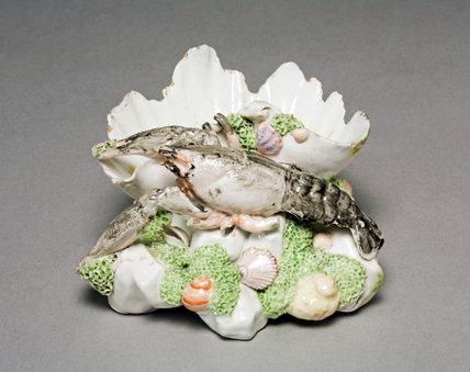 Crayfish Salt, by the Chelsea Porcelain Factory
