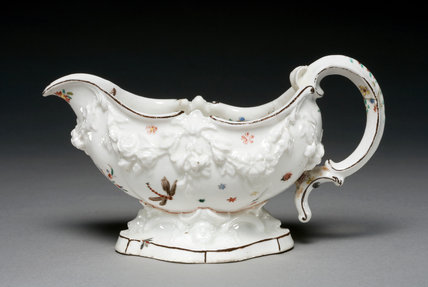 Sauce-Boat, by the Chelsea Porcelain Manufactory