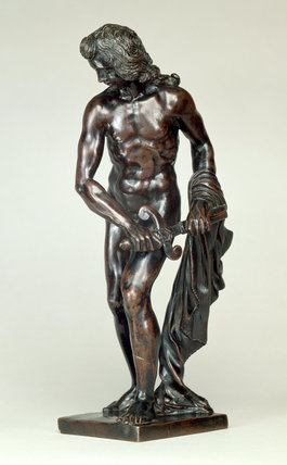David Drawing Goliath's Sword, by Ferdinando Tacca (attrib)