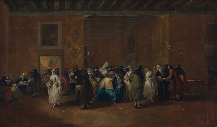 The Sala Grande of the Ridotto, by Guardi