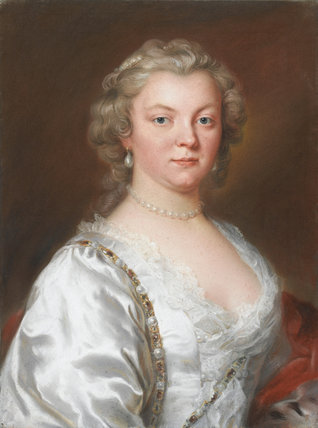 Catherine, wife of Viscount Fitzwilliam, by William Hoare