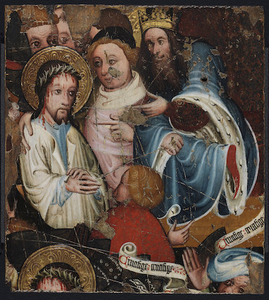 Christ before Pilate, English School