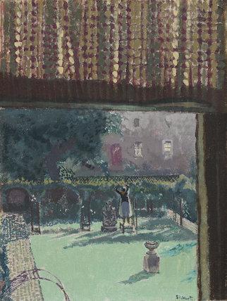 Lainey's Garden (The Garden of Love), by Sickert