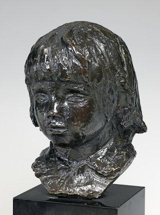 Head of Coco, by Renoir