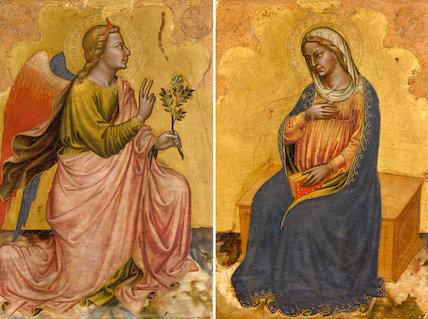 The Annunciation, by Martino di Bartolomeo