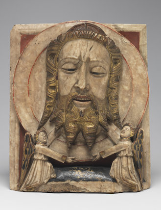 Head of John the Baptist on a dish